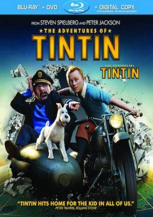 The Adventures Of Tintin 2011 BRRip 900Mb Hindi Dual Audio 720p