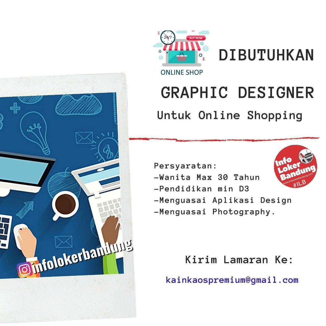 Lowongan Kerja Graphic Designer Kain Kaos Premium Bandung Juni 2020