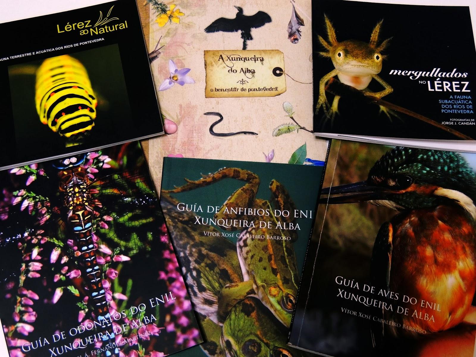 Publicaciones sobre Biodiversidad local del Concello de Pontevedra