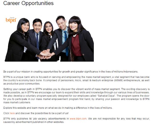 Bulan Ini  - Lowongan Kerja Bank BTPN Surabaya Terbaru 2020