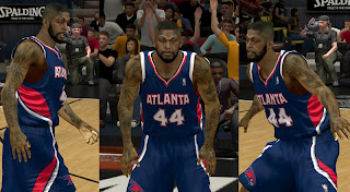 NBA 2K13 Ivan Johnson Cyber Face Mod