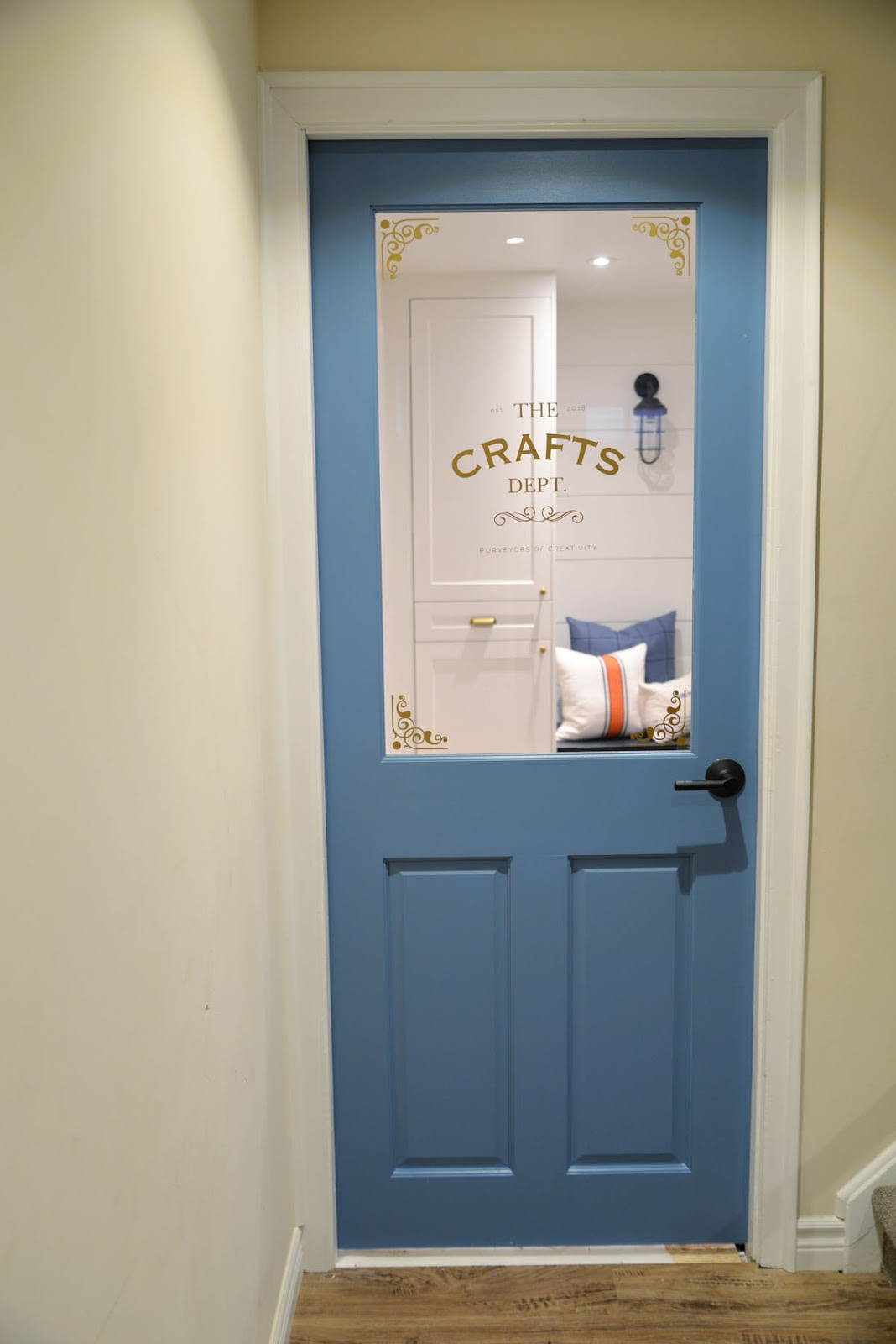 Projectcraftsdept A Craft Room Door Rambling Renovators