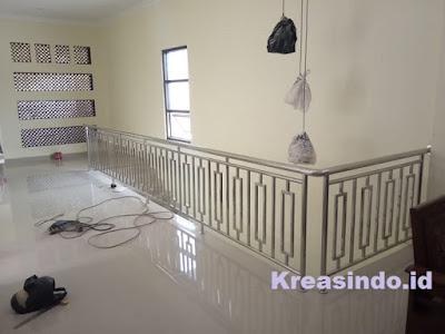 harga railing stainless balkon murah