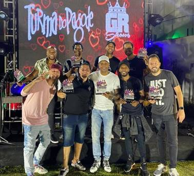 GR Shows homenageia Turma do Pagode