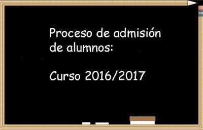 admision alumnos 2016 17