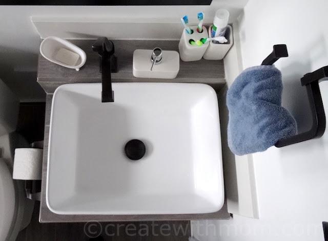DIY custom vanity
