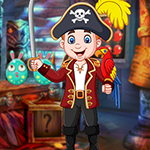 Games4King - G4K Fortunate Pirate Escape Game