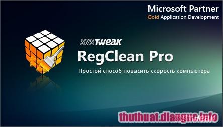 Downnload SysTweak Regclean Pro 8.3.81.1103 Full Key
