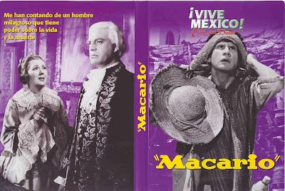 Carátula dvd: Macario (1960)