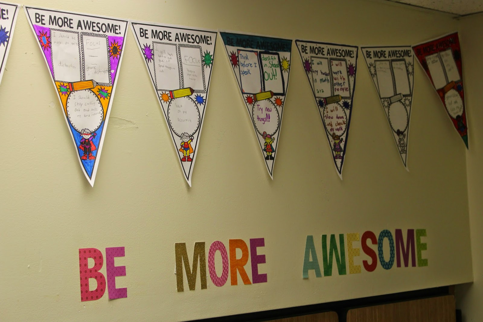 Classroom Banner Ideas ~ Be more awesome creative classroom tools