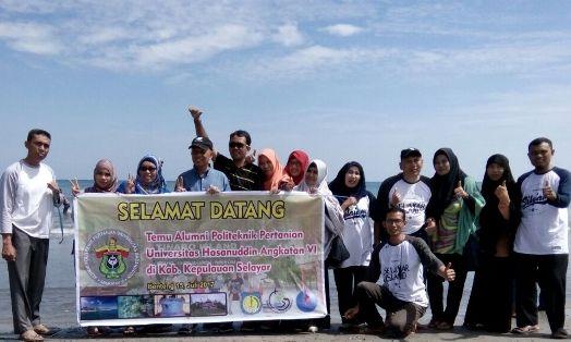Alumni Politani Unhas Angk.VI, Temu Kangen Di Pulau Selayar
