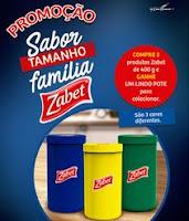 Promoção Sabor Tamanho Família Zabet