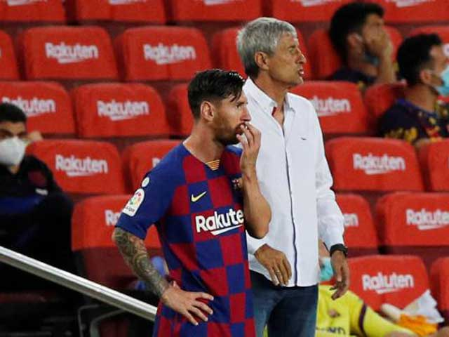 Messi cay cú, phát biểu cực gắt khi Barca mất ngôi vương vào tay Real