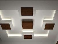 Modern Passage False Ceiling Design
