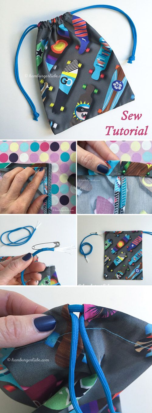 Small Bag or Gift Bag Tutorial
