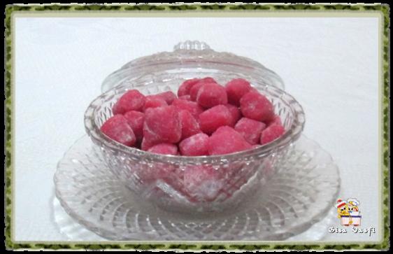 Bala de morangos 6