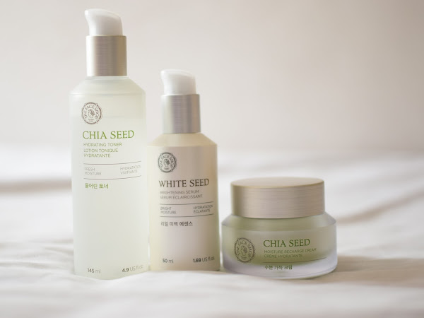 [Review] : THEFACESHOP Chia Seed products