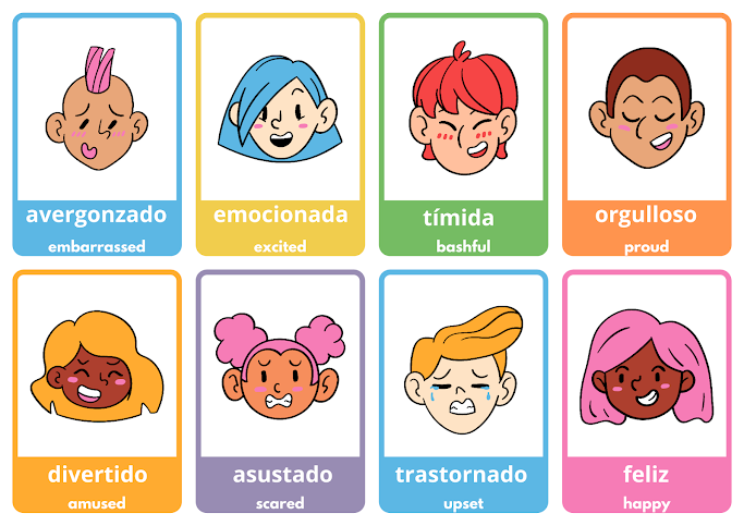 moods and feelings in Spanish
