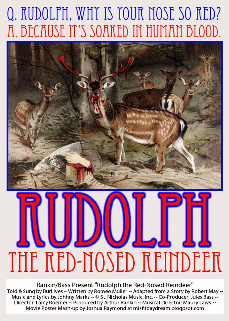 Rudolph The Red Nosed Reindeer Movie Poster