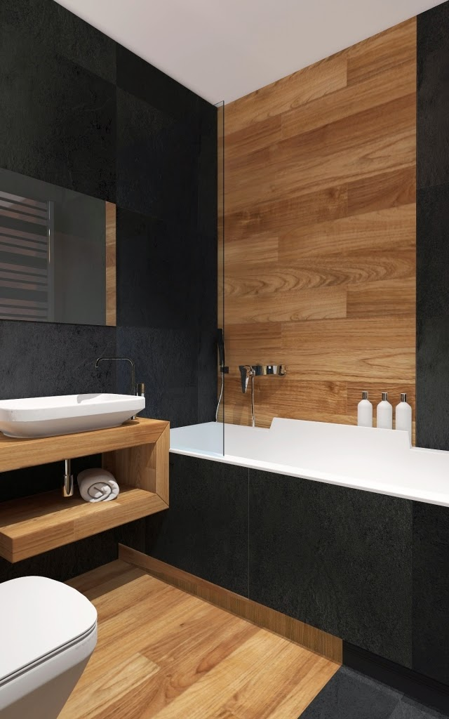 Lay Tiles In Wood Design 27 Modern