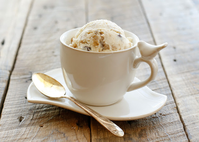 Oatmeal Cookie Ice Cream - get the recipe at barefeetinthekitchen.com