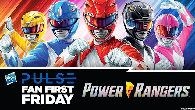 Fan First Friday acontece na próxima Sexta com novidades de Power Rangers