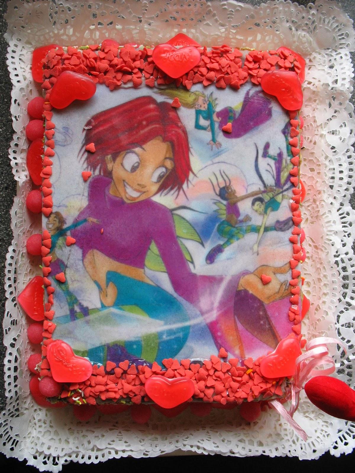 Dětský dort s jedlým papírem WITCH