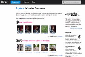 Imágenes Creative Commons en Flickr.com