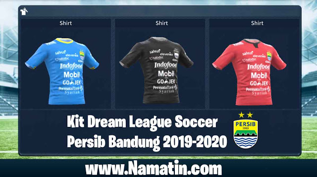 Kit Dream League Soccer Persib Bandung 2020