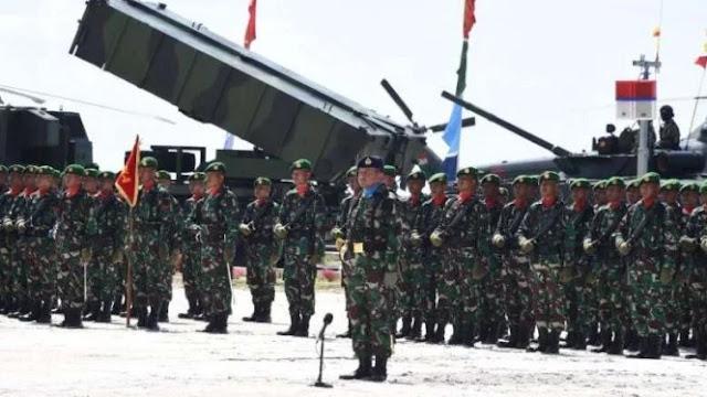 Adu Jago Pasukan Khusus Indonesia dan China di Natuna