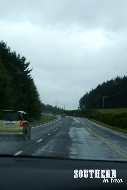 Driving from Auckland to Lake Taupo, New Zealand
