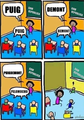 Puig , Demont, Puigdemont, Pelomocho
