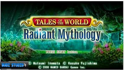 Tales Of The World: Radiant Mythology PPSSPP PSP
