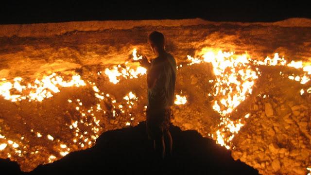 Ternyata, Api Neraka Pernah Sampai ke Dunia, Begini Panasnya