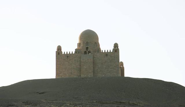 Mausoleo de Aga Khan en Aswan