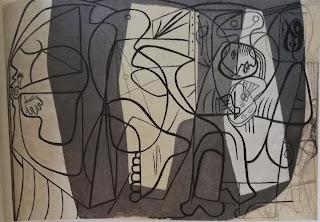 Художник и его модель, 1926 Пикассо