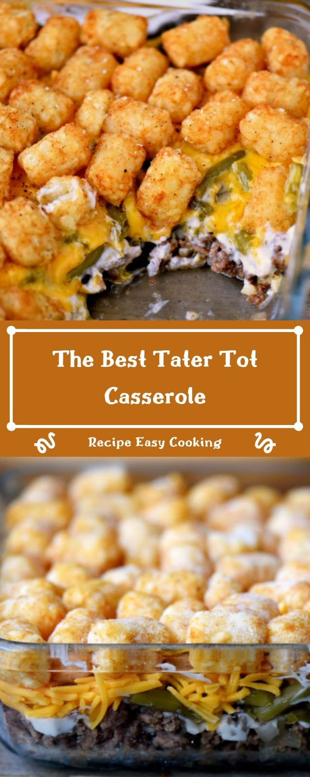 The Best Tater Tot Casserole - Recipes Easy Cooking