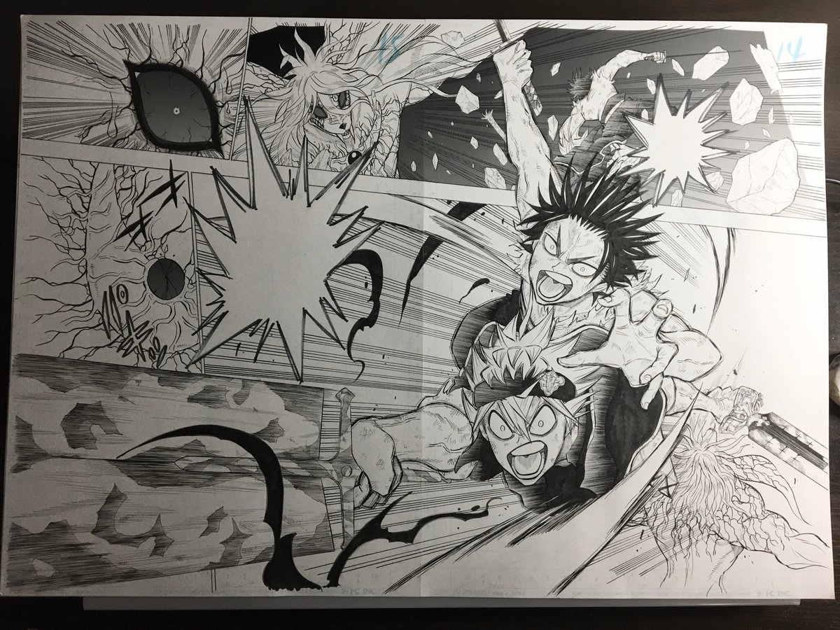 Manga Black Clover Gaiden: Quartet Knights Mendekati klimaks