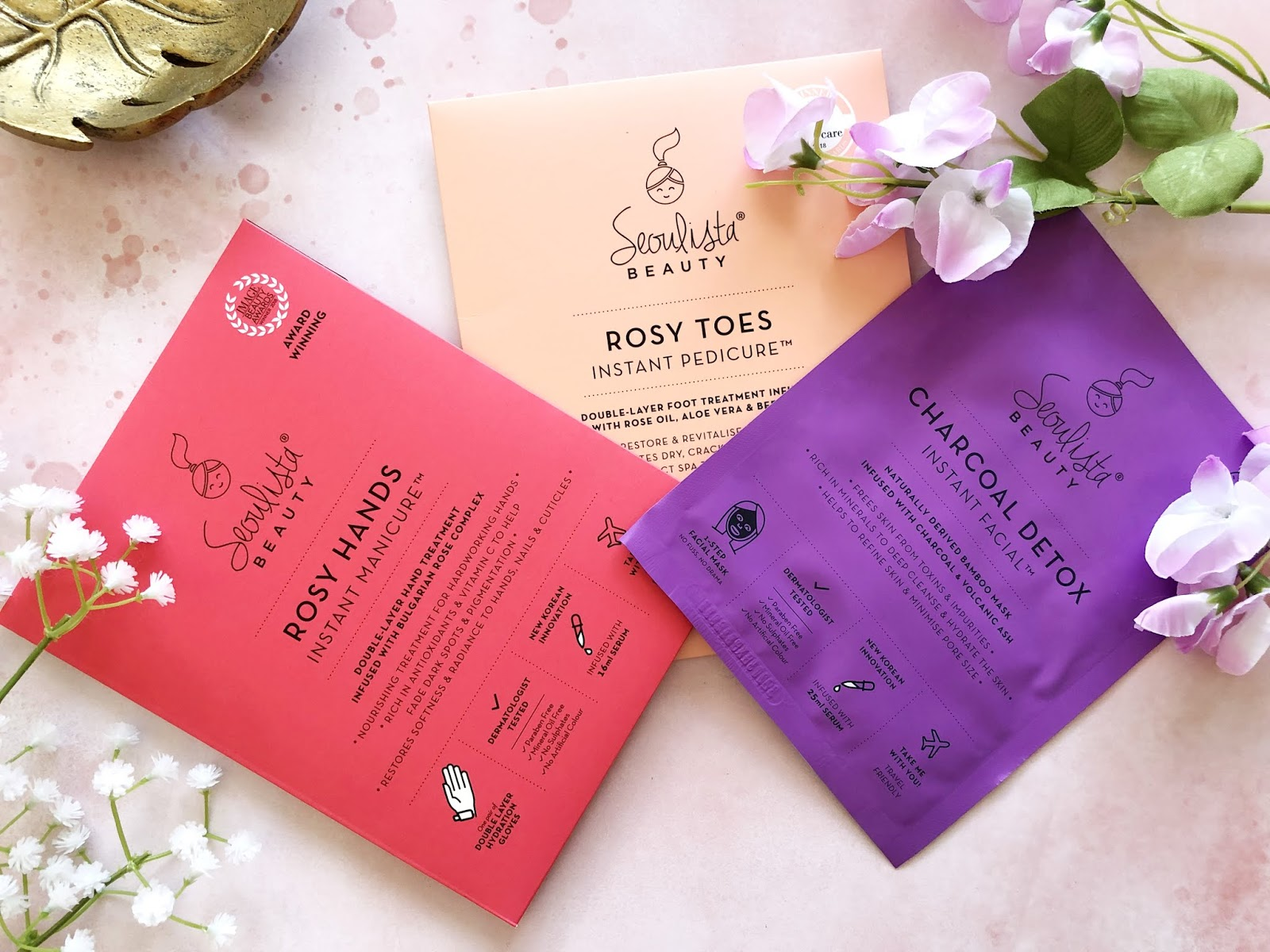 Seoulista Beauty Detoxified and Amplified Head-to-Toe Glow Box