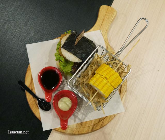 Chicken Burger With Teriyaki Sauce - RM17.90