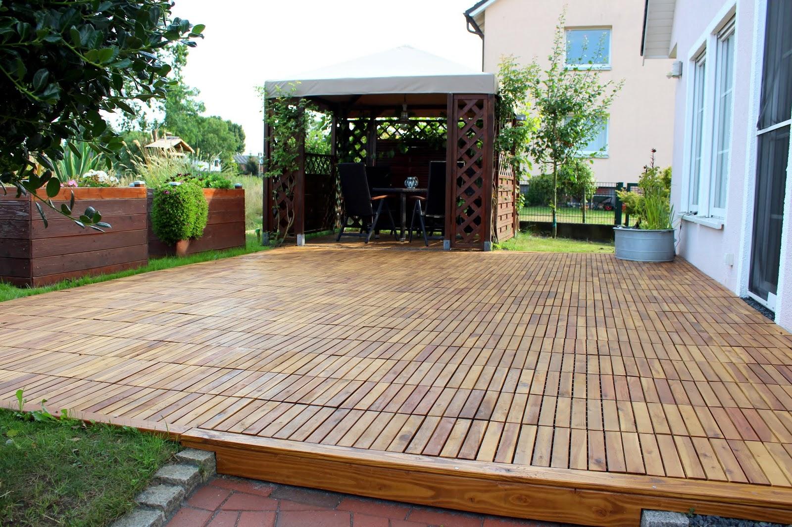 DIY - Garten Make Over - so sieht meine Terrasse jetzt aus