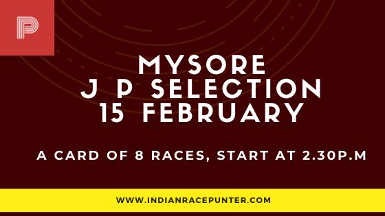 Mysore Jackpot Selections 15 February