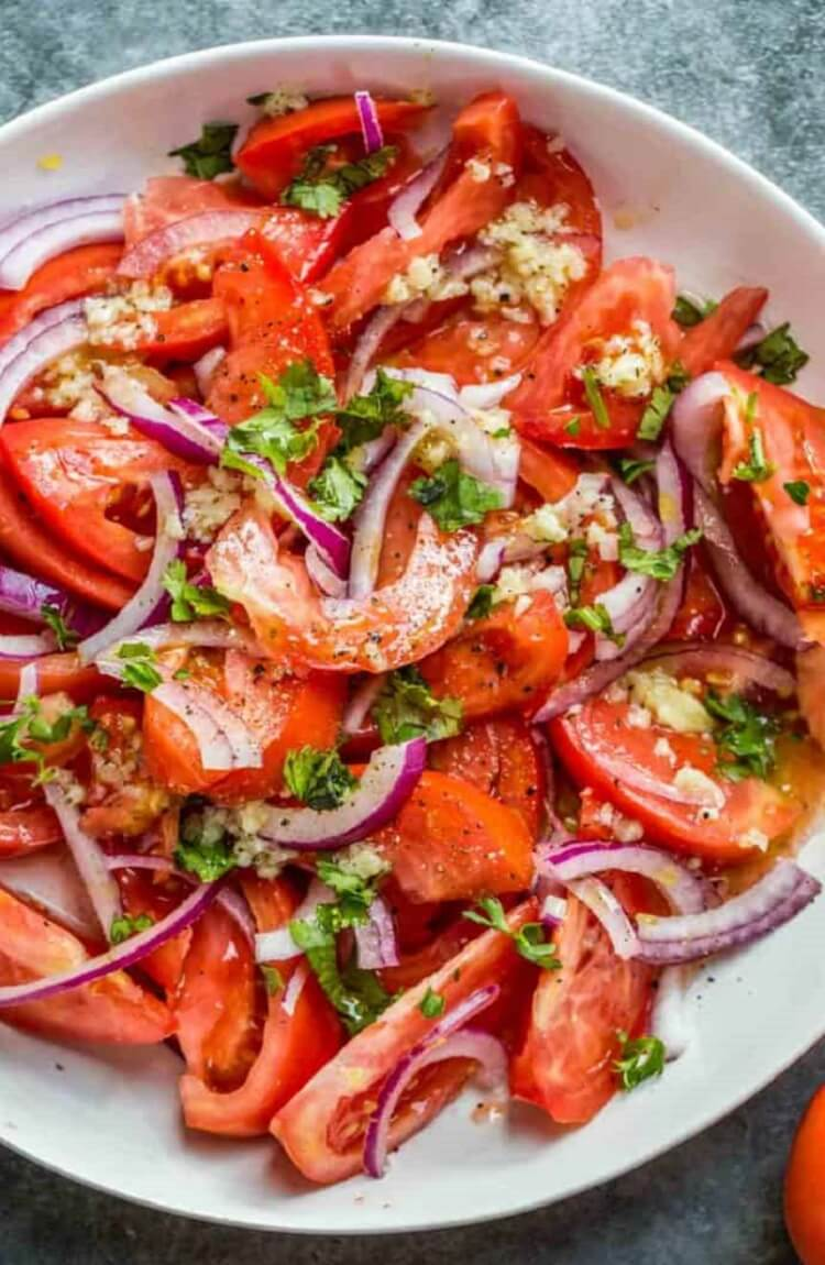 Fresh Tomato Salad Recipe