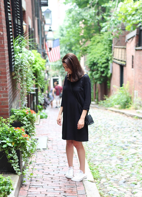 Casual Black Dress in Beacon Hill