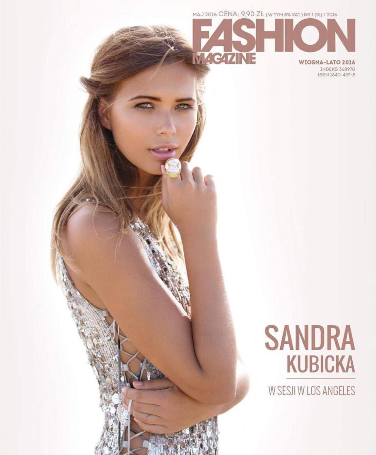 Sandra Kubicka wywiad