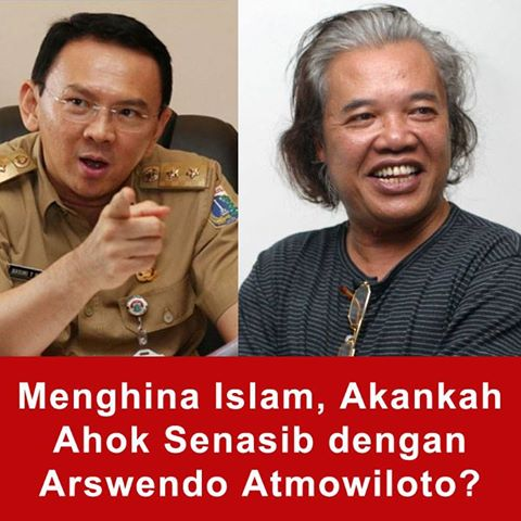 Supaya Ahok Ditangkap, Jonru Menyeret-Nyeret Kasus Arswendo Atmowiloto