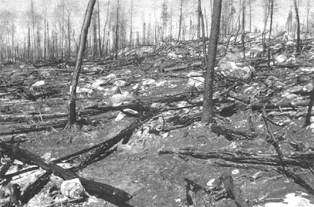 Incendio de Blanes (Gerona) en 1979.