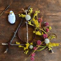deathly hallows wreath craft