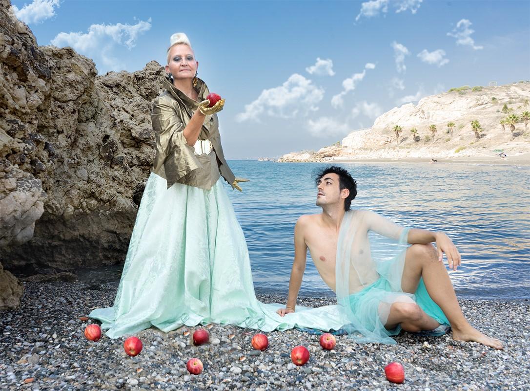 Snow White By The Mediterranean  Sea