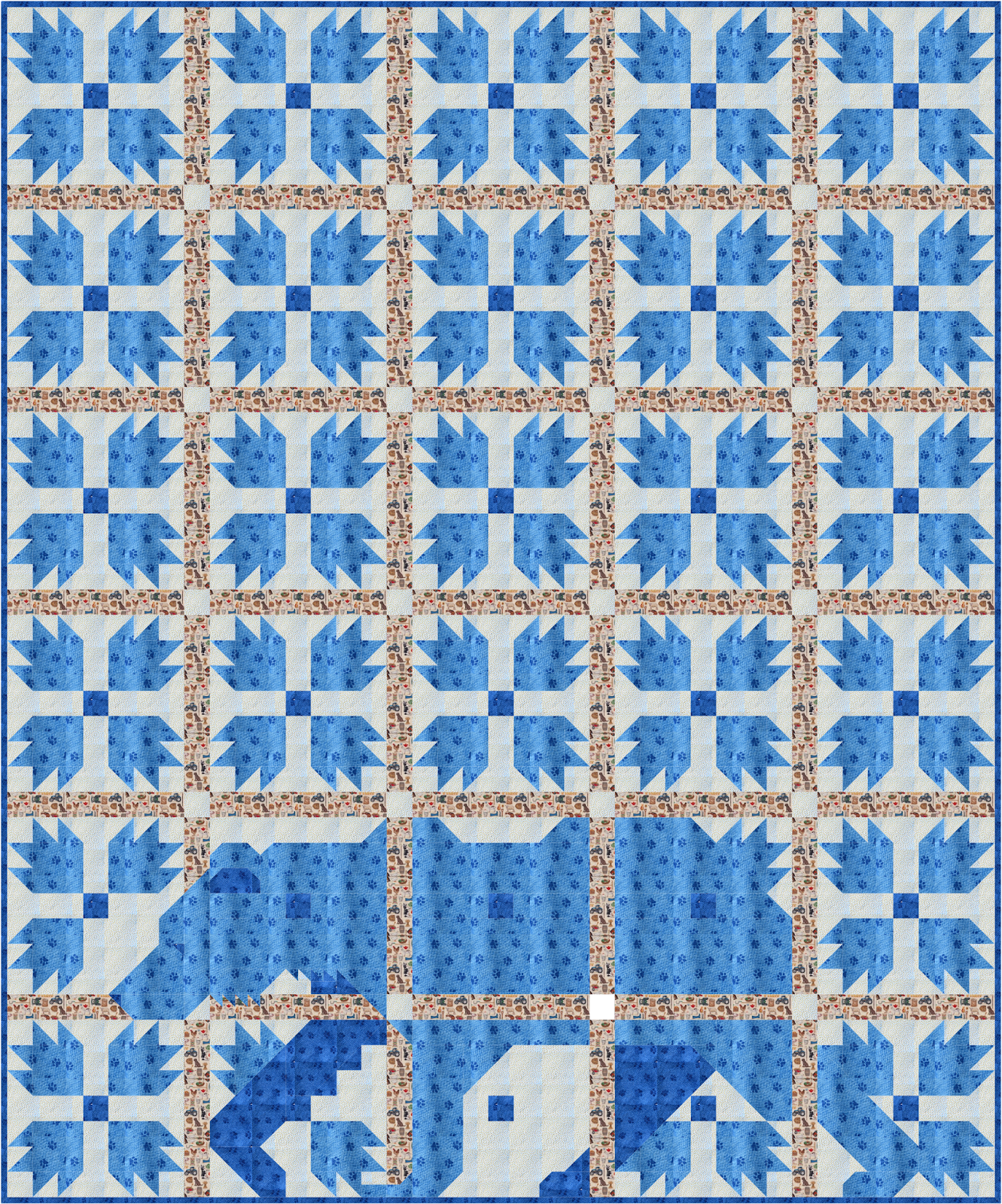 Sew Fresh Quilts: MOD Bear Paw QAL - Introduction and Fabric Requirements
